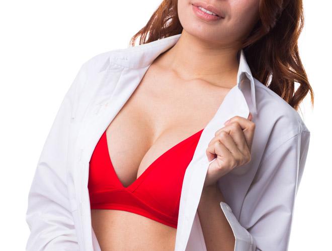 Model breast figure