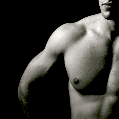 male model chest